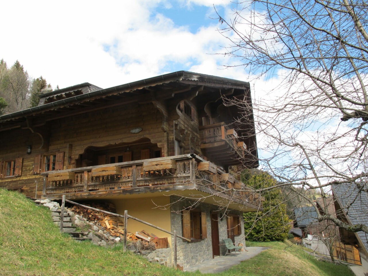 Champery expertise chalet