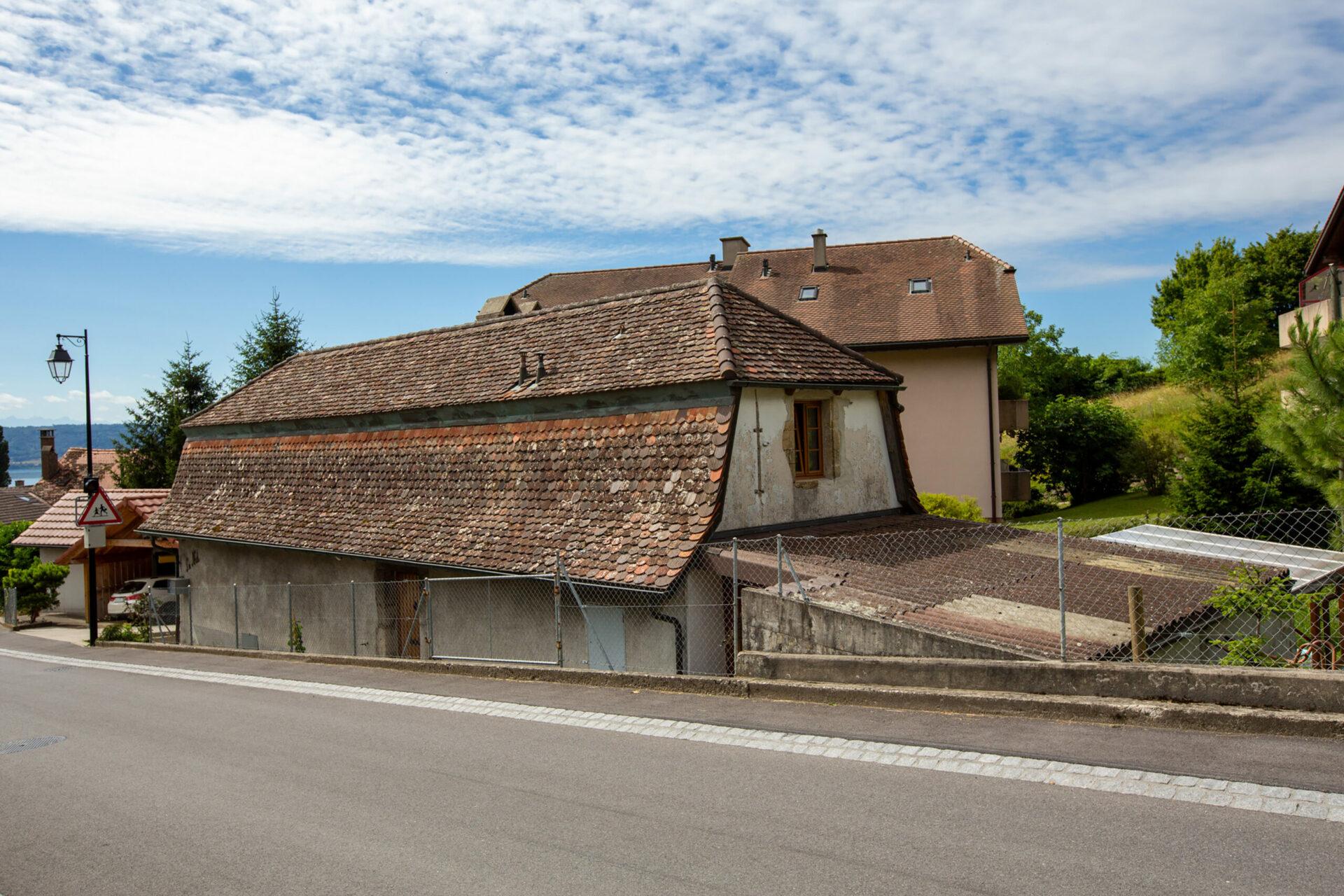 Concise bâtiment historique