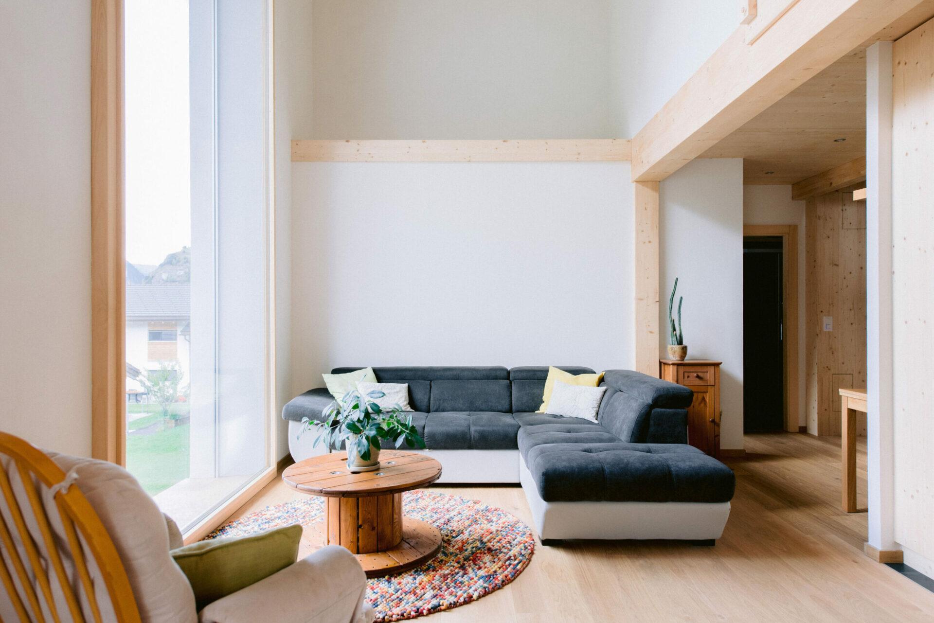 Vollèges EcoCocon salon double hauteur